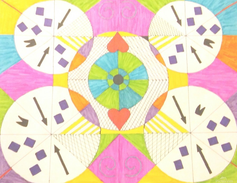 Wheels of Abstraction  Print